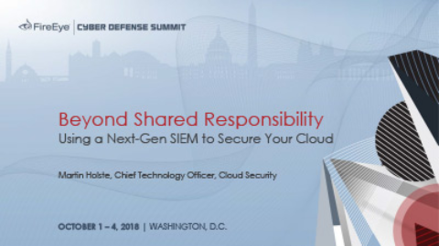 Beyond Shared Responsibility: Using a Next-Gen SIEM to Secure Your Cloud