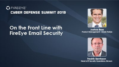 On the Front Line with FireEye Email Security