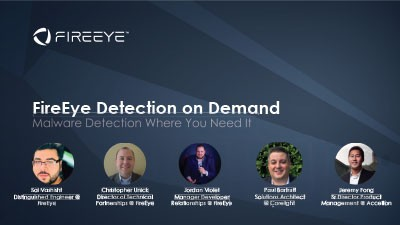 FireEye Detection On Demand: Malware Detection Where You Need It